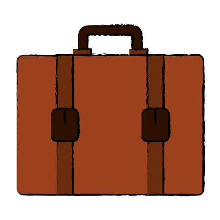 suitcase travel isolated icon vector illustration design Banco de Imagens - 88608880