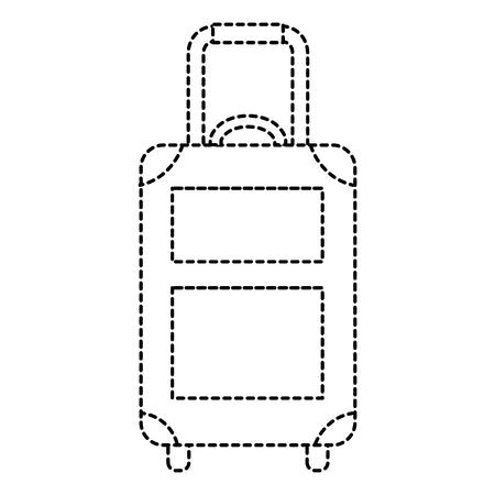 Voyage valise icône isolé illustration vectorielle conception Banque d'images - 88648186