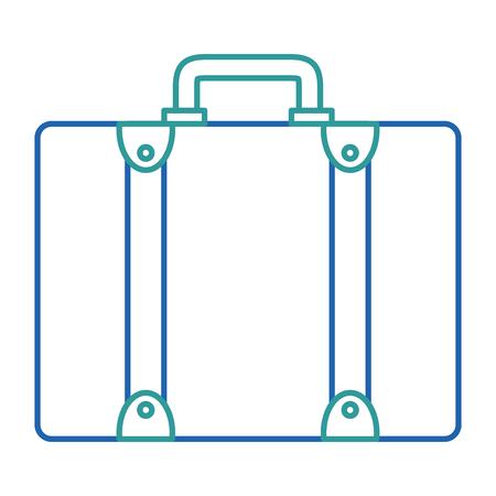 suitcase travel isolated icon vector illustration design Banco de Imagens - 88649270