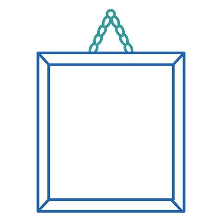 paint hanging isolated icon vector illustration design