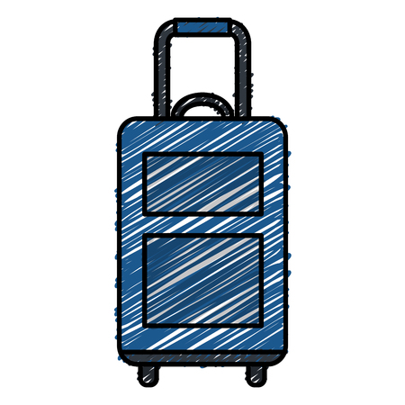 suitcase travel isolated icon vector illustration design Banco de Imagens - 88652440