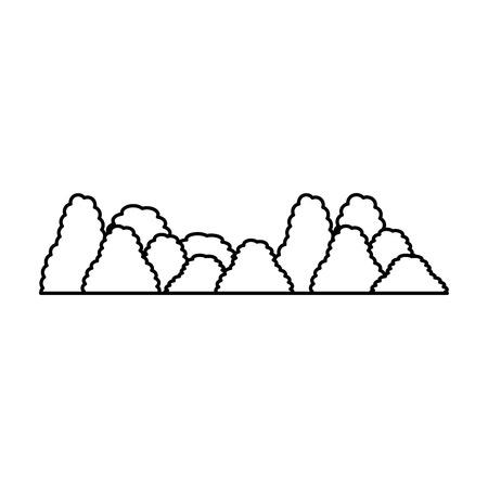 Un exotique jungle brousse icône illustration vectorielle conception Banque d'images - 88618024