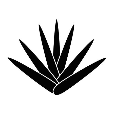 Un exotique jungle brousse icône illustration vectorielle conception Banque d'images - 88618761