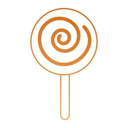 bonbons: sweet lollipop isolated icon vector illustration design Illustration