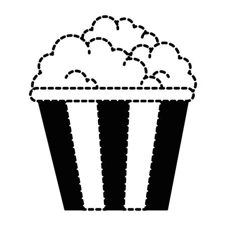 맛있는 팝 옥수수 아이콘 벡터 일러스트 디자인 스톡 콘텐츠 - 88827009