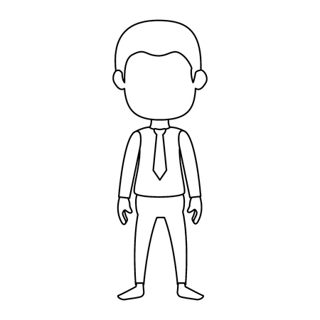 Geschäftsmann Avatar Charakter Symbol Vektor Illustration Design Standard-Bild - 88844933