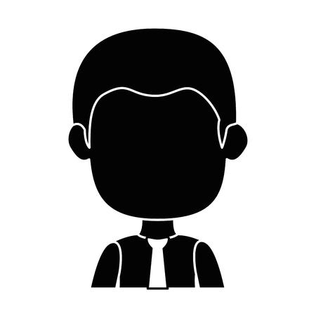 Geschäftsmann Avatar Charakter Symbol Vektor Illustration Design Standard-Bild - 88844952