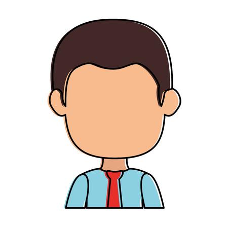 Geschäftsmann avatar Zeichen-Symbol Vektor-Illustration, Design, Standard-Bild - 88839192