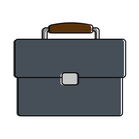 portfolio briefcase isolated icon vector illustration design Ilustração