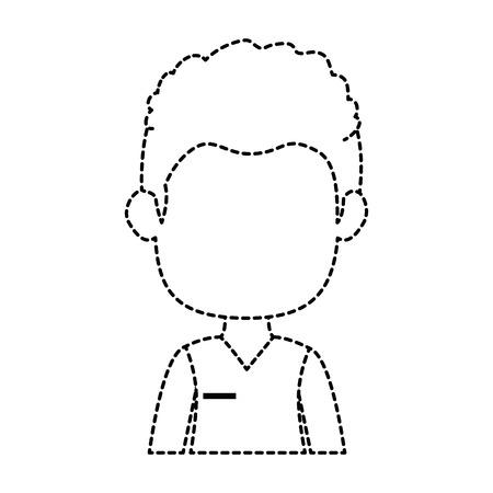 Geschäftsmann avatar Zeichen-Symbol Vektor-Illustration, Design, Standard-Bild - 88884768