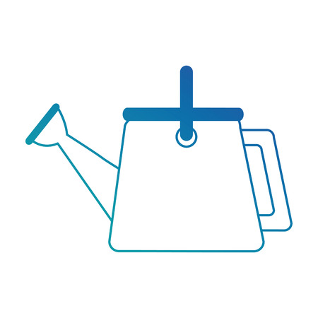 tuin sproeier geïsoleerd pictogram vector illustratie ontwerp