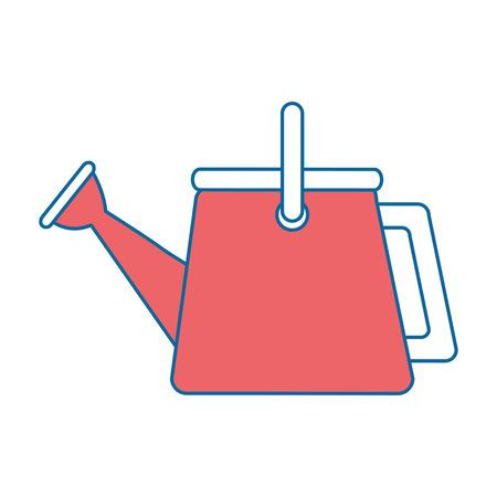 tuin sprinkler geïsoleerd pictogram vectorillustratieontwerp Stock Illustratie
