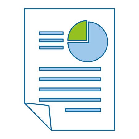 統計情報のアイコン ベクトル イラスト デザインとドキュメント