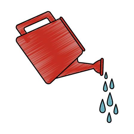 tuin gereedschap geïsoleerd pictogram vector illustratie ontwerp Stock Illustratie