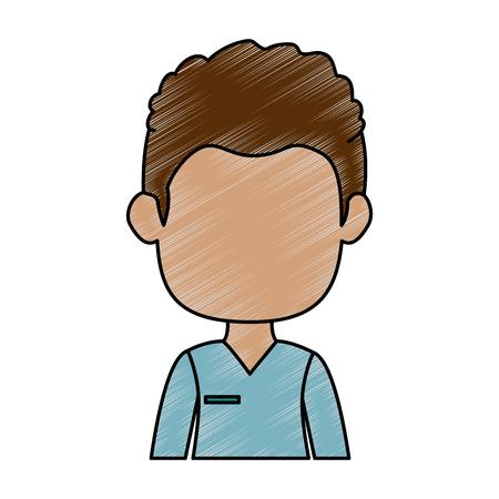 Geschäftsmann Avatar Charakter Symbol Vektor Illustration Design Standard-Bild - 88886790