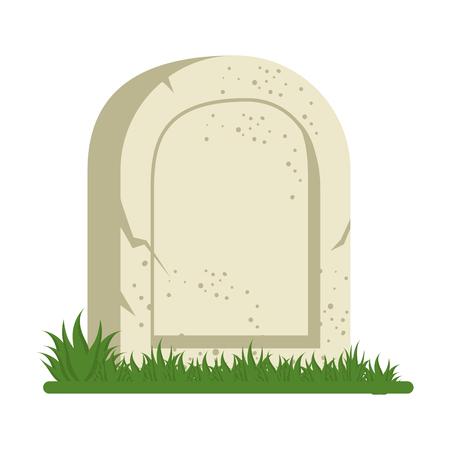 死のアイコン ベクトル イラスト デザインの墓