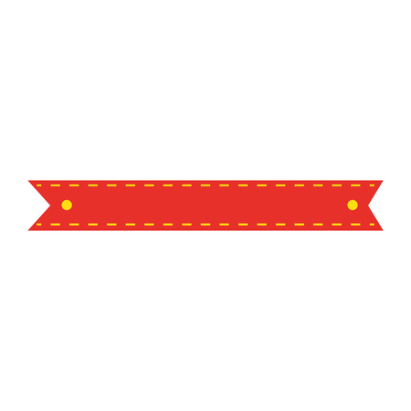 ribbon frame isolated icon vector illustration design