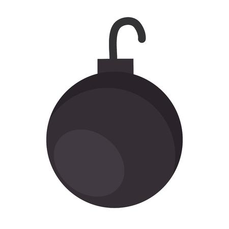 shackle ball isolated icon vector illustration design Illustration