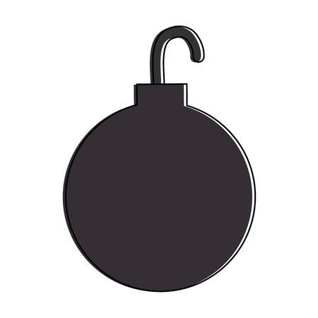 Ikonenvektor-Illustrationsdesign des Fesselballs lokalisiertes Standard-Bild - 88889196