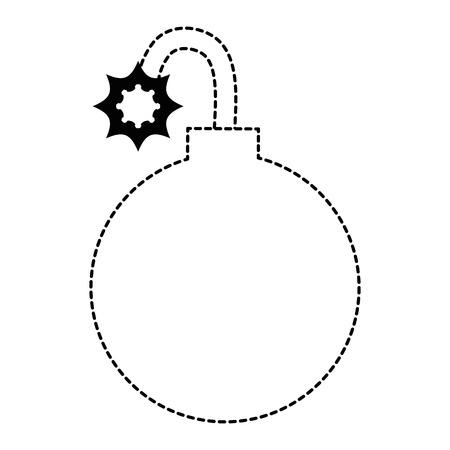 Vektor-Illustrationsdesign des Booms explosive lokalisiertes Ikonenvektor Standard-Bild - 88889690