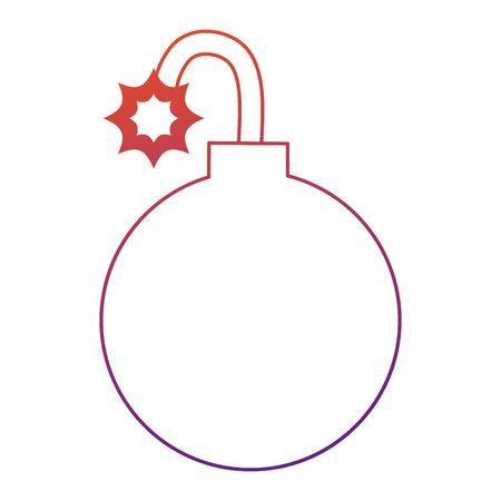 Vektor-Illustrationsdesign des Booms explosive lokalisiertes Ikonenvektor Standard-Bild - 88889793