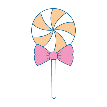 sweet candy isolated icon vector illustration design Ilustração