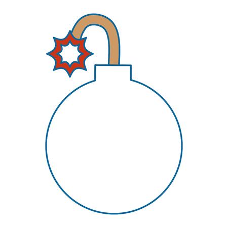 Vektor-Illustrationsdesign des Booms explosive lokalisiertes Ikonenvektor Standard-Bild - 88890079