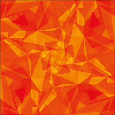 orange modern geometrical abstract background texture vector illustration