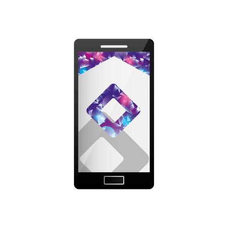 Schablonendesign der Unternehmensvektorillustration der mobilen Technologie-Geschäftsanwendung des Webs Standard-Bild - 88893931