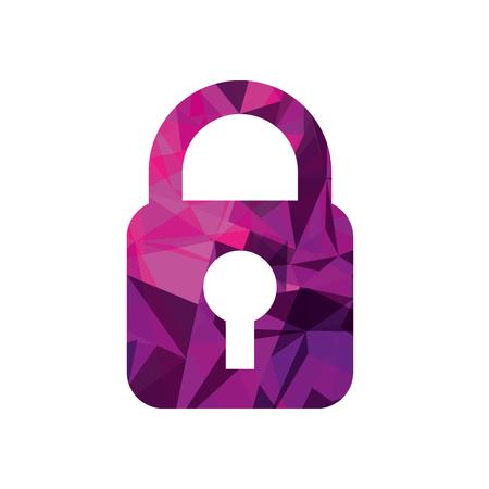 セキュリティ ビジネス保護データ情報ベクトル図