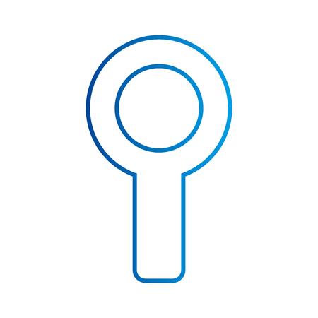 돋보기 snalysis 탐사 확대 검사 검사 개념 벡터 일러스트 레이션 스톡 콘텐츠 - 88894037