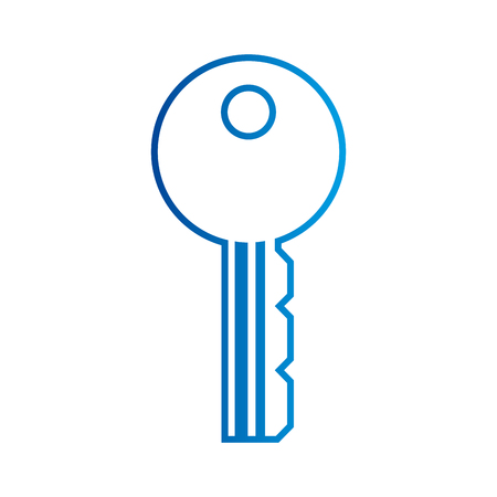 キーへのアクセス ビジネス オフィス セキュリティ ベクトル図  イラスト・ベクター素材