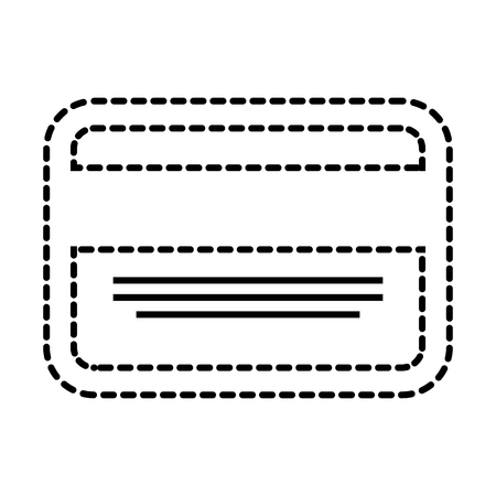 business card credit debit bank template vector illustration
