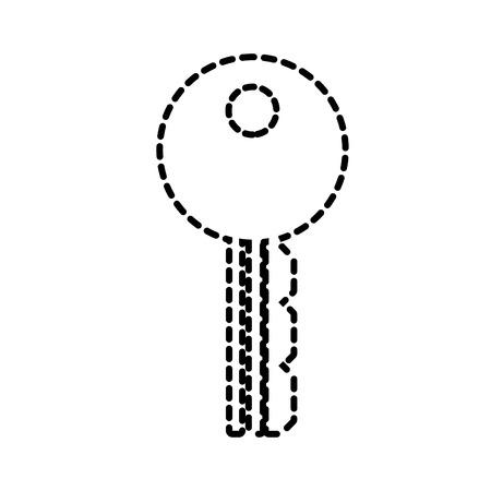 belangrijke toegang zakelijke kantoor beveiliging vector illustratie