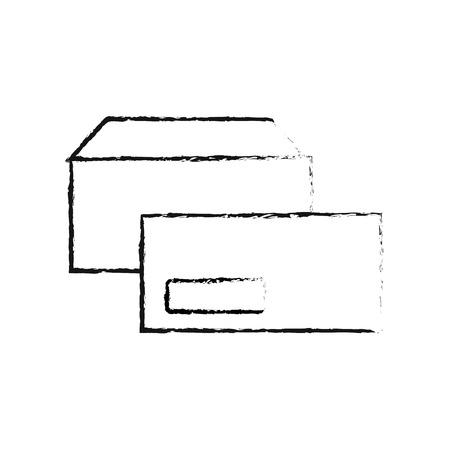 Umschläge Unternehmen Briefpapier Büro Vorlage Vektor-Illustration Standard-Bild - 88960326