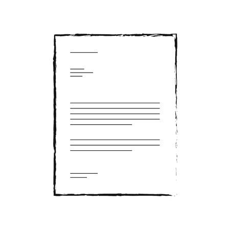 Vorlagendesign Liste Seite Modell Thema Corporate Style Idee Vektor-Illustration Standard-Bild - 88960327