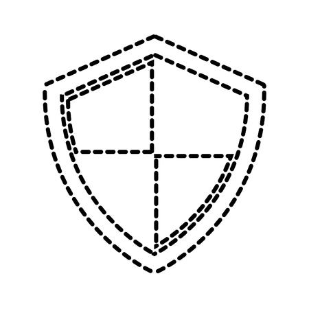 シールド保護データ システム情報技術ベクトル図