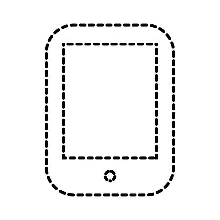 휴대 전화 장치 통신 애플 리케이션 벡터 일러스트 레이션
