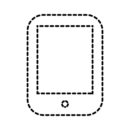 mobile phone device communication app vector illustration