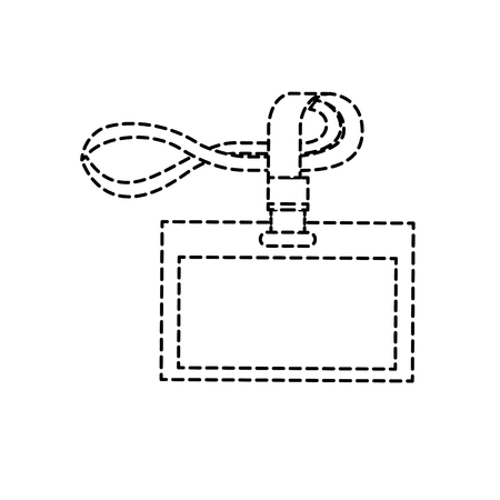 テンプレート ベクトル図をブランディング id 本社ストラップ  イラスト・ベクター素材
