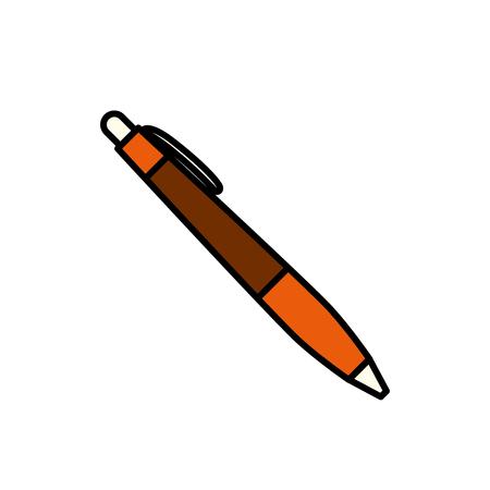 Pen sjabloon voor uw branding presentaties vector illustratie Stockfoto - 88960564