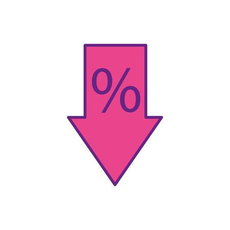 販売矢印タグ割引特別オファー シンボル ベクトル図