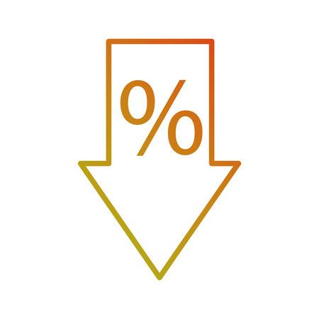 sale arrow tag discount special offer symbol vector illustration