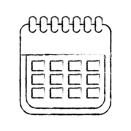 販売カレンダー日付ページeコマースビジネスプランベクトルイラスト 写真素材 - 88979601