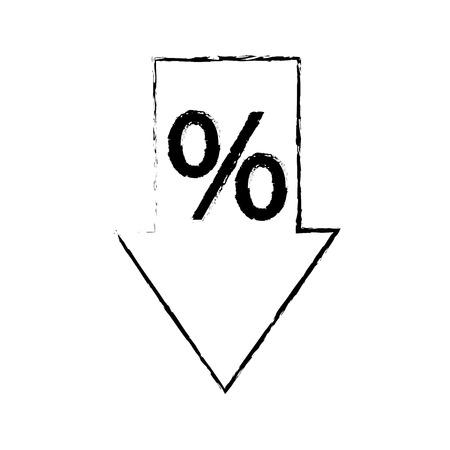販売矢印タグ割引特典特典シンボルベクトルイラスト