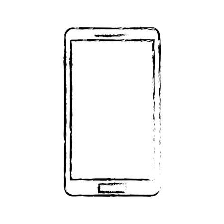 휴대 전화 장치 기술 무선 아이콘 벡터 일러스트 레이션