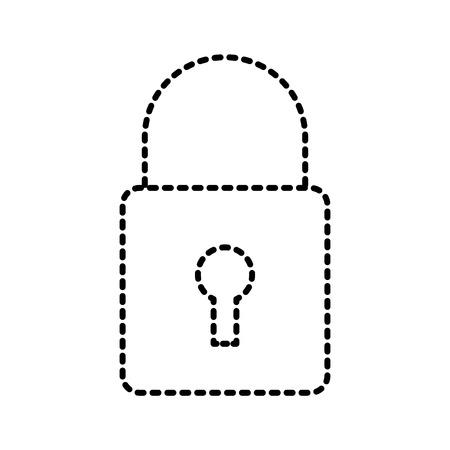 security technology data online information protection vector illustration Ilustração