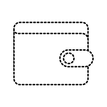 portemonnee bank concept veiligheid geld zakelijke vectorillustratie