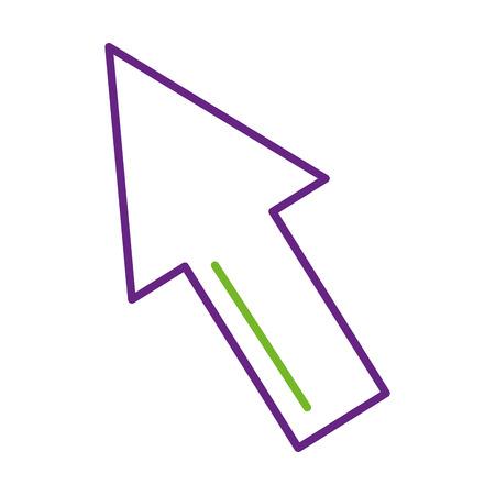rate rising up arrow finance commerce vector illustration Illusztráció