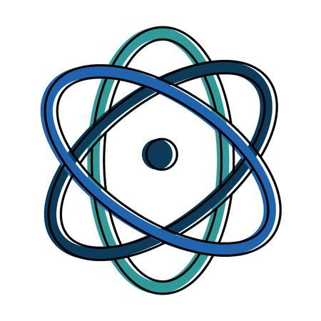 Atom-Molekül isoliert Symbol Vektor-Illustration, Design, Standard-Bild - 89251443